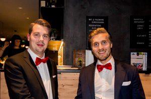 LVIturva Group OY:s grundare Juhana Kilpeläinen och Juha-Matti Kemppainen är nöjda med etableringen i Sverige.
